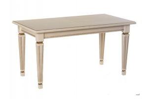 Стол обеденный Васко 01 слоновая кость/патина - Мебельная фабрика «Мебелик»
