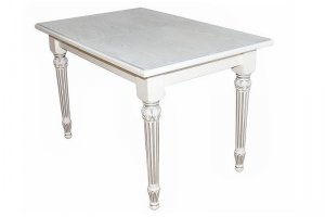 Стол обеденный Жерар 02 белый - Мебельная фабрика «Мебелик»