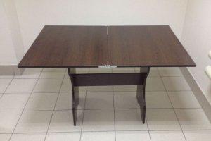 Кухонный стол Мечта (поворотно-раскладной), венге темный - Мебельная фабрика «Миссия»