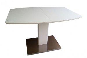 Стол раскладной В2469 белое стекло - Импортёр мебели «КиТплюс»