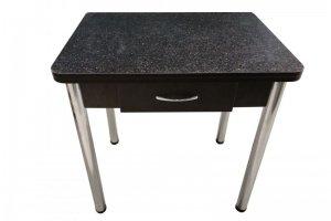 Стол ломберный с ящиком на хром ногах - Мебельная фабрика «VALERIA»