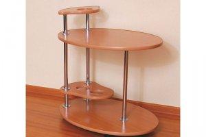 Стол сервировочный №26Л (Ла Манш) - Мебельная фабрика «MINGACHEV»