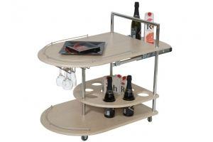 Стол сервировочный Бармен дуб беленый - Мебельная фабрика «Мебелик»