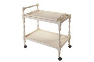 Стол сервировочный Бридж слоновая кость - Мебельная фабрика «Мебелик»