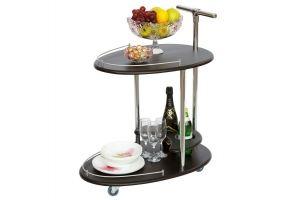 Стол сервировочный Фуршет венге - Мебельная фабрика «Мебелик»