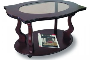 Стол журнальный темный Берже 3С - Мебельная фабрика «Мебелик»