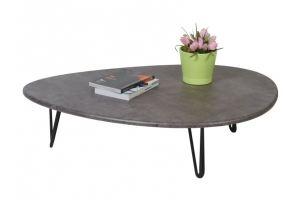Стол журнальный Дадли серый бетон - Мебельная фабрика «Мебелик»
