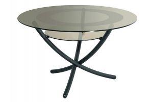 Стол журнальный Дуэт 4 черный/тонированное - Мебельная фабрика «Мебелик»