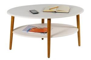 Стол журнальный Эль СЖ-01 белый - Мебельная фабрика «Мебелик»