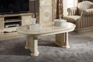 Стол журнальный Гретта слоновая кость - Мебельная фабрика «Меридиан»