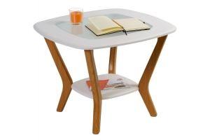 Стол журнальный Мельбурн белый - Мебельная фабрика «Мебелик»