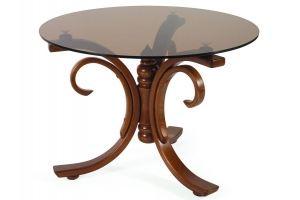 Стол журнальный Миледи средне-коричневый - Мебельная фабрика «Мебелик»