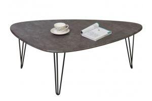 Стол журнальный Престон серый бетон - Мебельная фабрика «Мебелик»