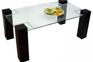 Стол журнальный Приз 2Н венге прозрачное без иероглифа - Мебельная фабрика «Мебелик»