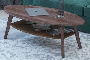 Стол журнальный Серфинг орех - Мебельная фабрика «Мебелик»