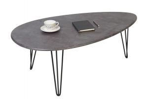 Стол журнальный Шеффилд серый бетон - Мебельная фабрика «Мебелик»
