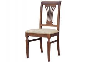 Стул Арида орех, жаккард Атина 160-2 - Мебельная фабрика «Мебелик»