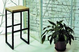 Стул барный LINK FIR - Мебельная фабрика «Desk Question»