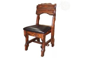 Стул Крестьянка (кожа) - Мебельная фабрика «Кедр-М»