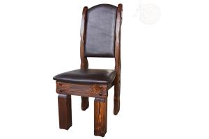 Стул Купец (кожа) - Мебельная фабрика «Кедр-М»