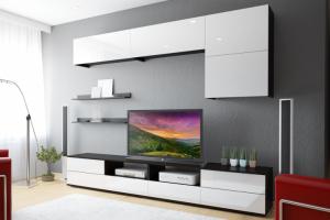 Светлая гостиная Тренто 2 - Мебельная фабрика «ЛЕКО»
