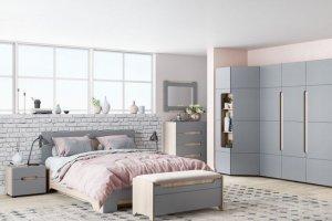 Светлая современная спальня Палермо - Мебельная фабрика «Стиль»