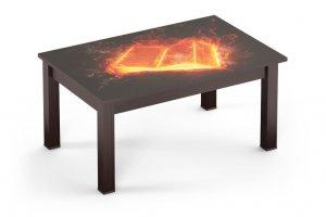 СЖ-07 стол журнальный (фотопечать Стекло) - Мебельная фабрика «Милайн»