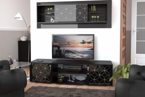 Темная гостиная Вега 21 - Мебельная фабрика «ЛЕКО»
