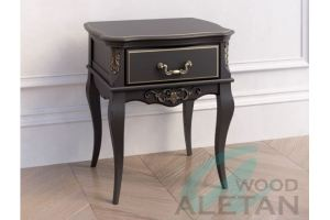 Тумба прикроватная с 1 ящиком 301BL - Мебельная фабрика «ALETAN wood»