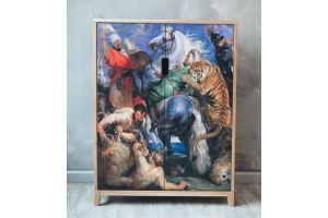 Тумба с Картиной Рубенса - Мебельная фабрика «WOODGE»