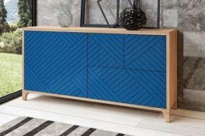 Тумба Бостон синяя - Мебельная фабрика «WOODGE»