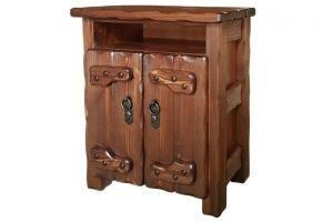 Тумбочка  Иванушка  ниша+2 двери - Мебельная фабрика «Кедр-М»