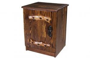 Тумбочка Русич 1 дверь с элементами ковки - Мебельная фабрика «Кедр-М»