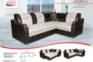 Угловой диван Атлант 3 - Мебельная фабрика «Идеал»