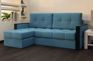 Угловой диван Диамант оттоманка - Мебельная фабрика «Полярис»