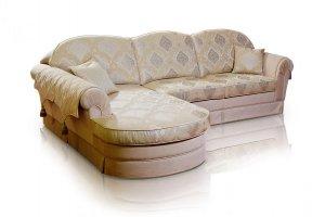 Угловой диван Гермес в классическом стиле - Мебельная фабрика «ИСТЕЛИО»