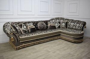Угловой диван Грация с подлокотником - Мебельная фабрика «ЮлЯна»