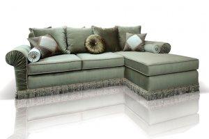 Угловой диван Мариатти с оттоманкой - Мебельная фабрика «ИСТЕЛИО»
