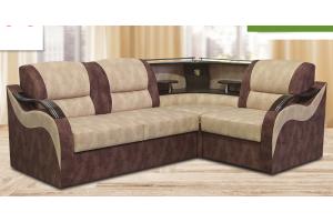 Угловой диван Омега с баром - Мебельная фабрика «ИХСАН»
