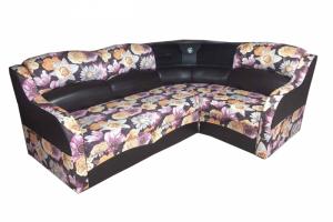Угловой диван с баром Мираж - Мебельная фабрика «Наида»