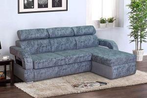 Угловой диван с подголовниками Милан 2 - Мебельная фабрика «Катрина»