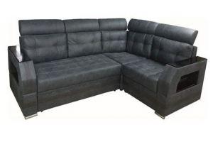 Угловой диван Уют ППУ или Пружинный блок - Мебельная фабрика «ПЕРСПЕКТИВА»