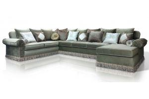 Угловой П-образный диван Мариатти - Мебельная фабрика «ИСТЕЛИО»