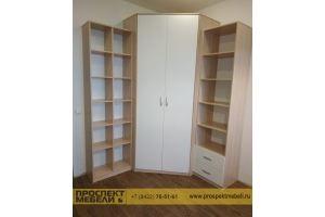 Угловой шкаф в комнату - Мебельная фабрика «Проспект мебели»