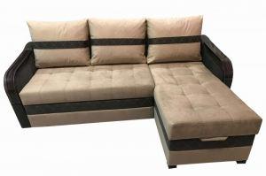 Уютный диван с оттоманкой Квадро 2 - Мебельная фабрика «Лора»