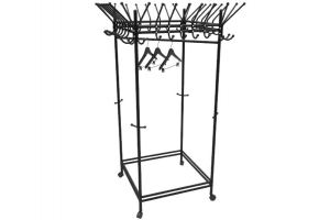 Вешалка гардеробная на колесах Пико 23 черный - Мебельная фабрика «Мебелик»