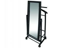 Вешалка костюмная с зеркалом В 24Н - Мебельная фабрика «Мебелик»