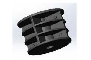 Втулка распорная для трубы D50 (ВР508) - Оптовый поставщик комплектующих «Микрон»