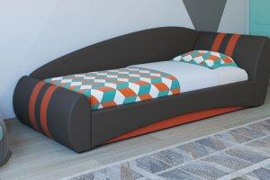 Яркая интерьерная кровать Гольф - Мебельная фабрика «Нижегородмебель и К (НиК)»