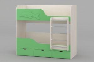 Детская кровать Юнга 2-ярусная - Мебельная фабрика «Комодофф»